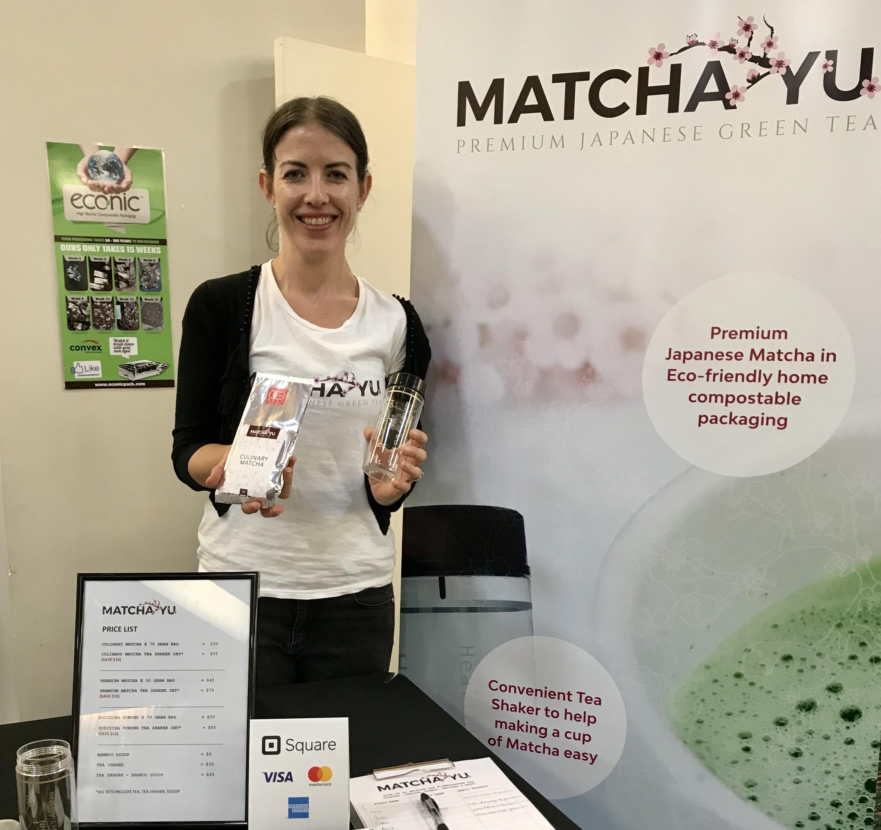Matcha Yu owner, Erin Lindwall.