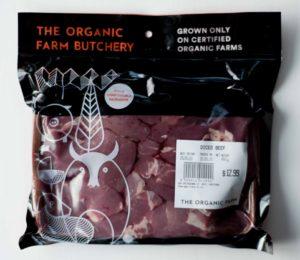 Organic Diced Beef